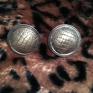 Diane Von Furstenberg Vintage Earrings